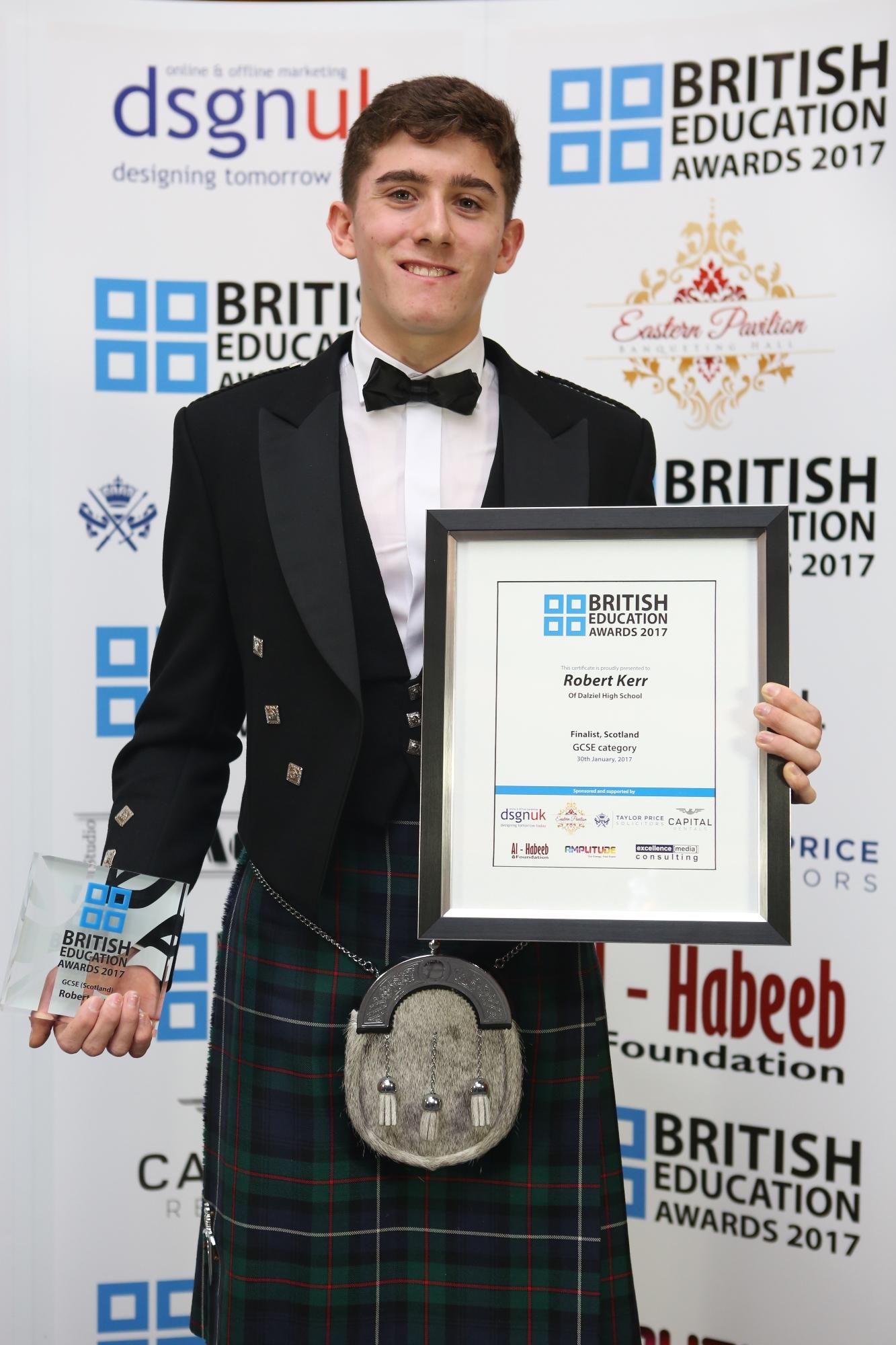 Robert Kerr-GCSE -Scotland