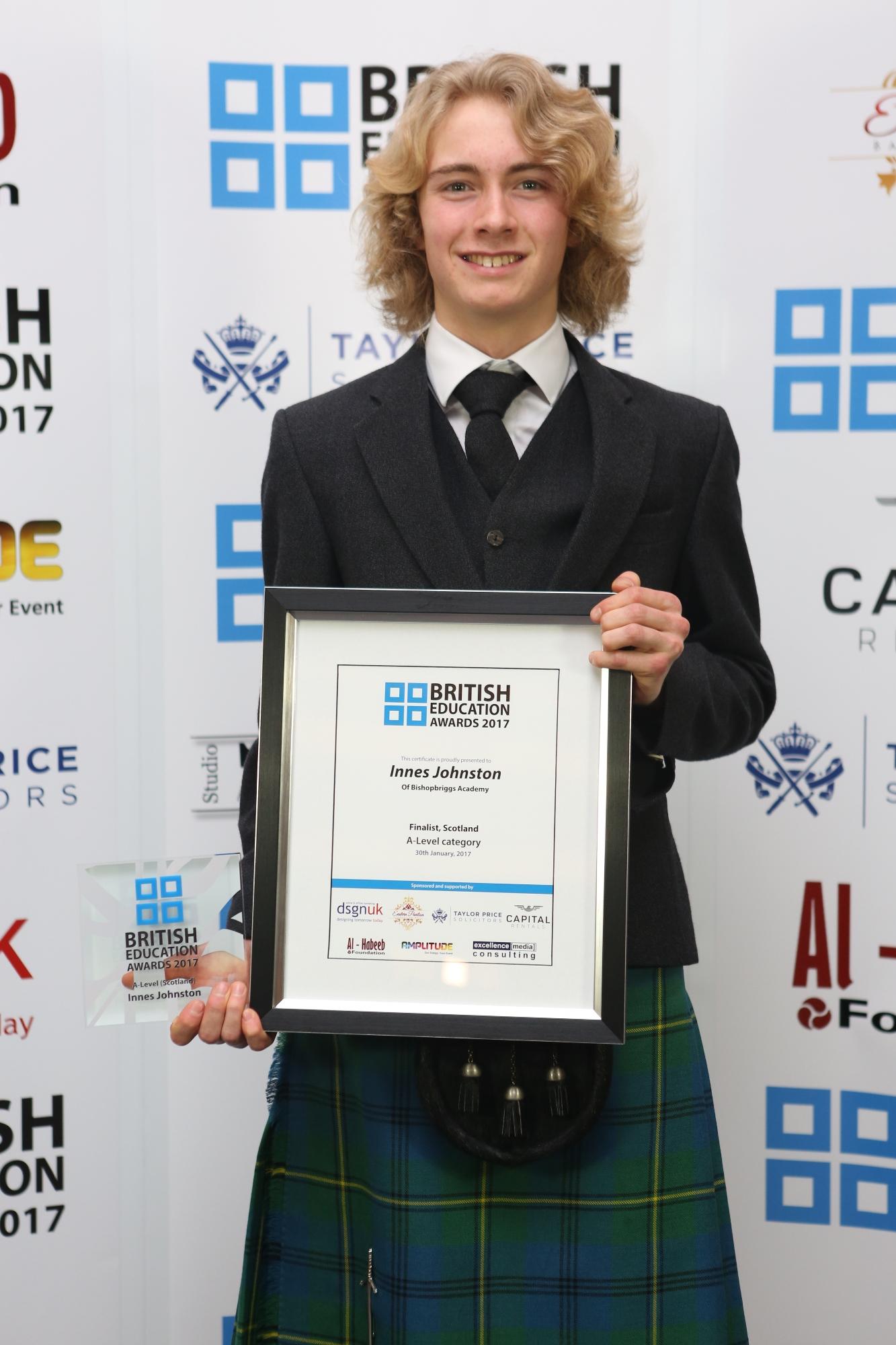 Innes Johnston-A-Level-Scotland