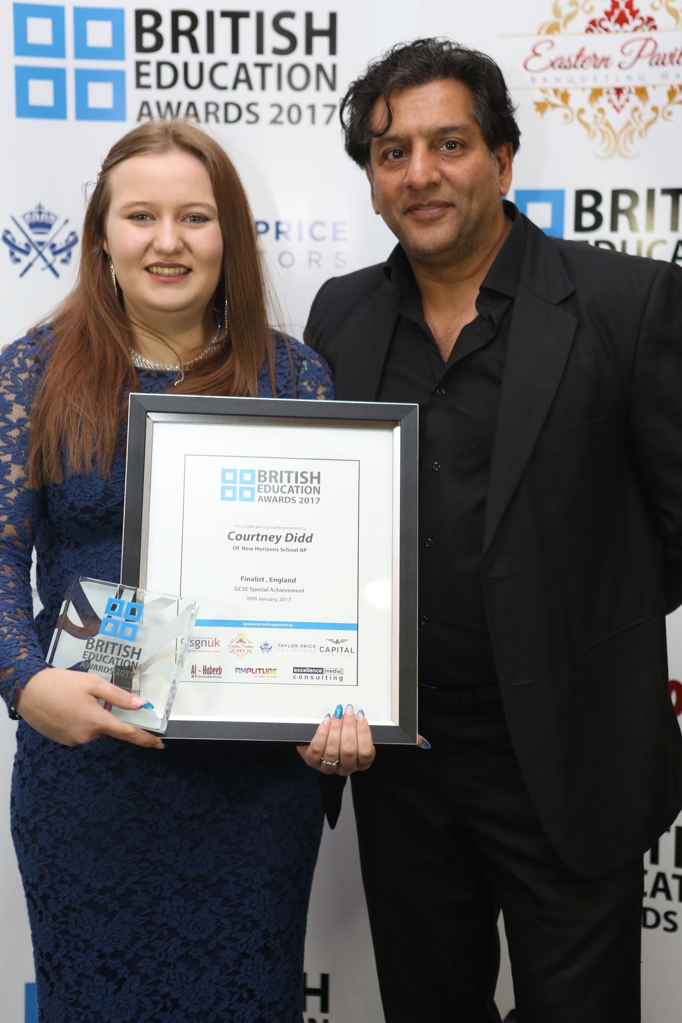 Courtney Didd-Special achievement